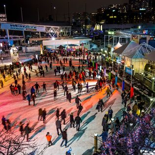 Celebrate the New Year at Skate By The Lake
