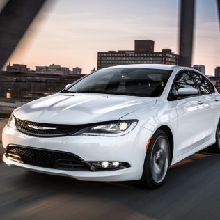Family fun with Chrysler 200c