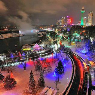 The Niagara Falls | Festive Place in Ontario
