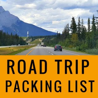 Road Trip Packing List for Car Rental